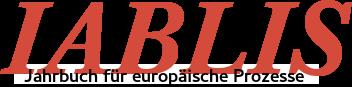Iablis. Jahrbuch für europäische Prozesse